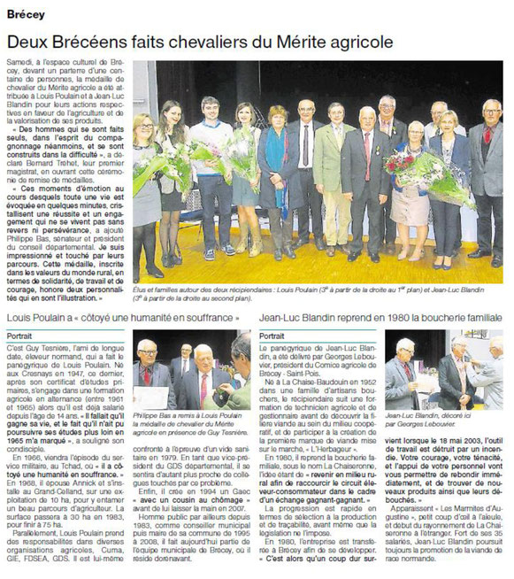 Ouest-France, 05/05/2015