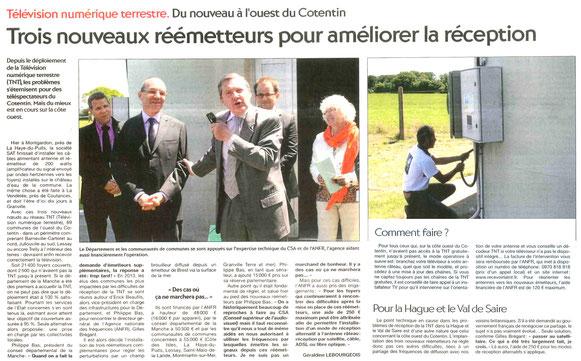 Presse de la Manche, 07/07/2015