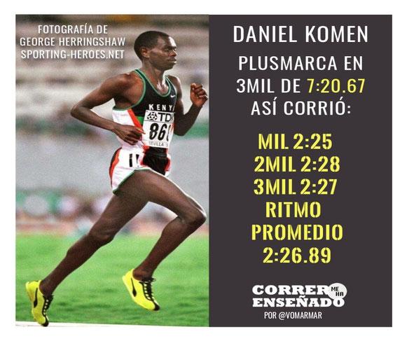 La historia de Daniel Komen