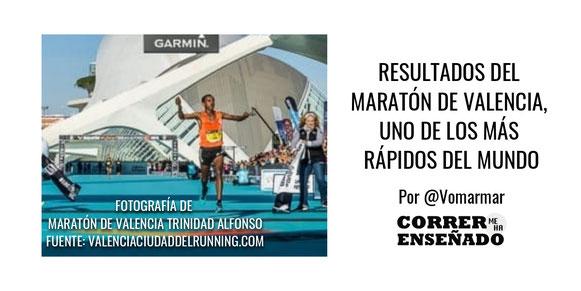 Resultados del Maratón de Valencia