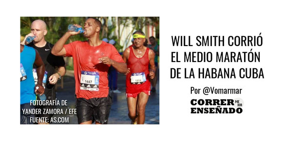 Will Smith corrio el medio maraton de la Habana Cuba