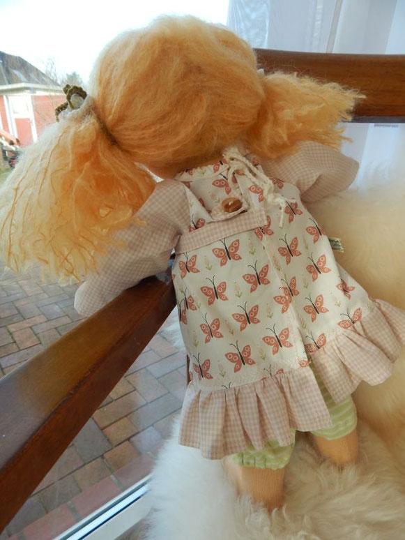 Waldorfpuppe, Stoffpuppe, handgemacht, Waldorfart, clothdoll, steiner doll