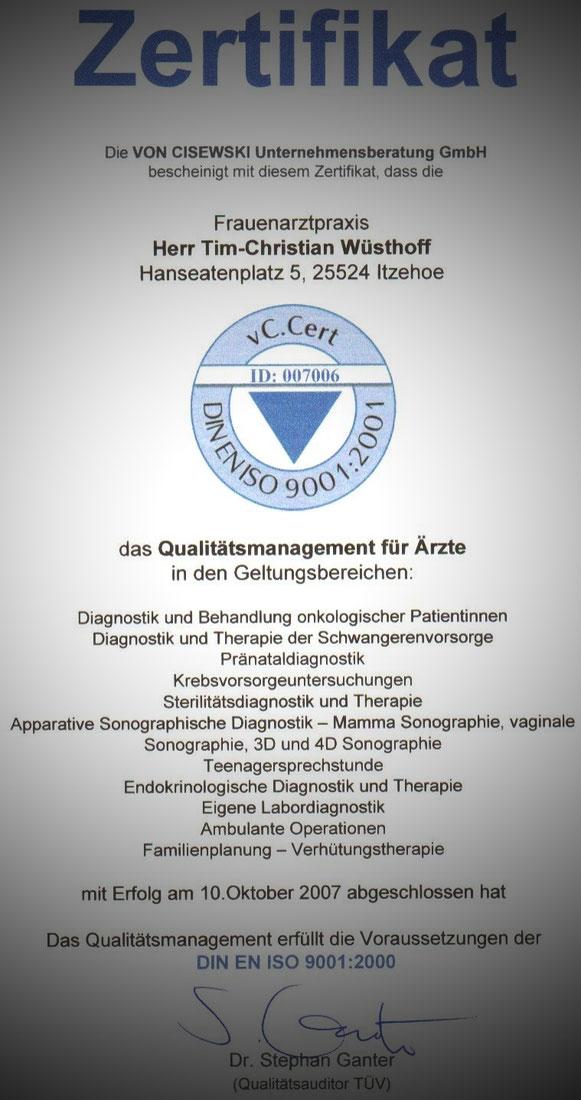 DIE PRAXIS - frauenarzt-wuesthoffs Webseite!