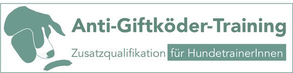 Logo Anti-Giftköder-Training Zusatzqualifikation für HundetrainerInnen