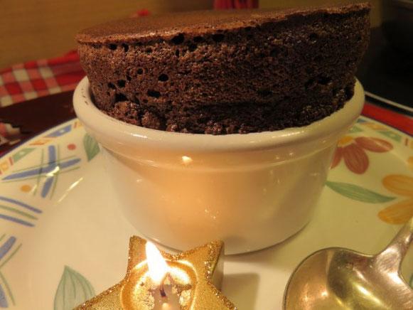 Soufflé au Chocolat façon Guy Martin Paris
