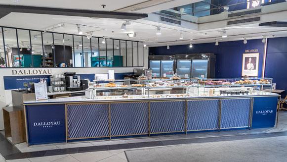 DALLOYAU Café aux Galeries Lafayette Gourmet ©Fabrice Lombard