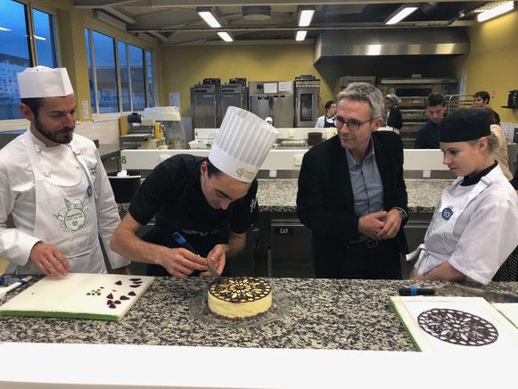 La « Scène des Fiertés » nouvelle pâtisserie symbole du Département de Seine-Saint-Denis.