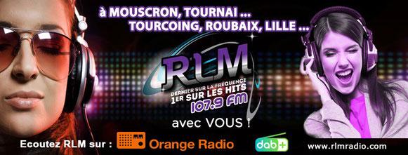 RLM - Radio Loisir Mouscron démarre le 4 mars en DABplus dans le Hainaut Ouest et le Nord de la France