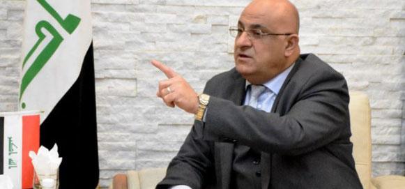 Il ministro del commercio iracheno Mohammad Hashem al-Ani