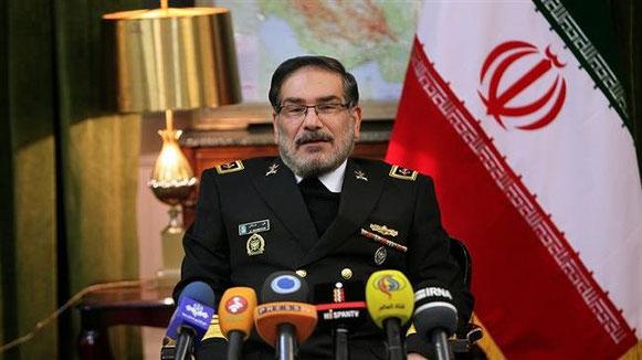 Il segretario del Consiglio supremo per la sicurezza Ali Shamkhani