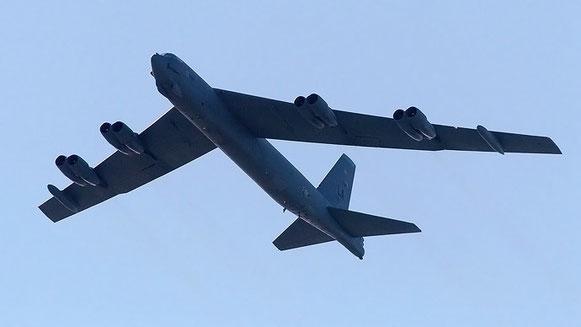 Il bombardiere strategico a lungo raggio B-52 Stratofortress