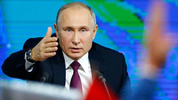 Vladimir Putin all'annuale Conferenza di Mosca, 20 Dicembre 2018