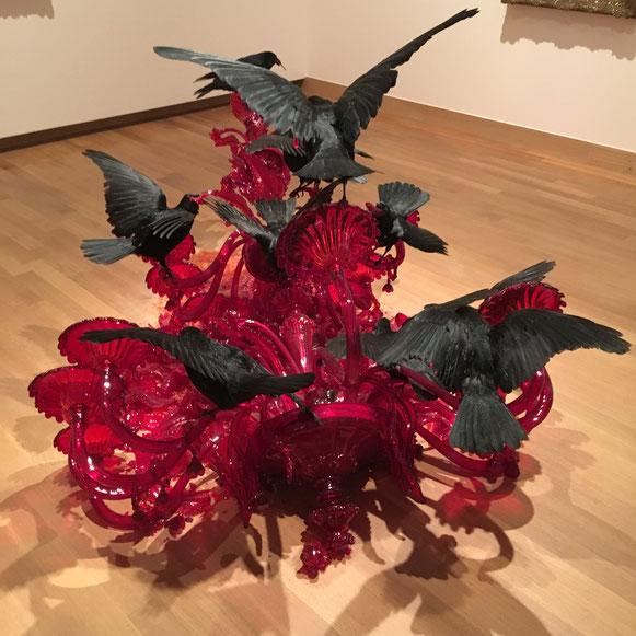 glaswerk van Javier Perez in Dordrecht