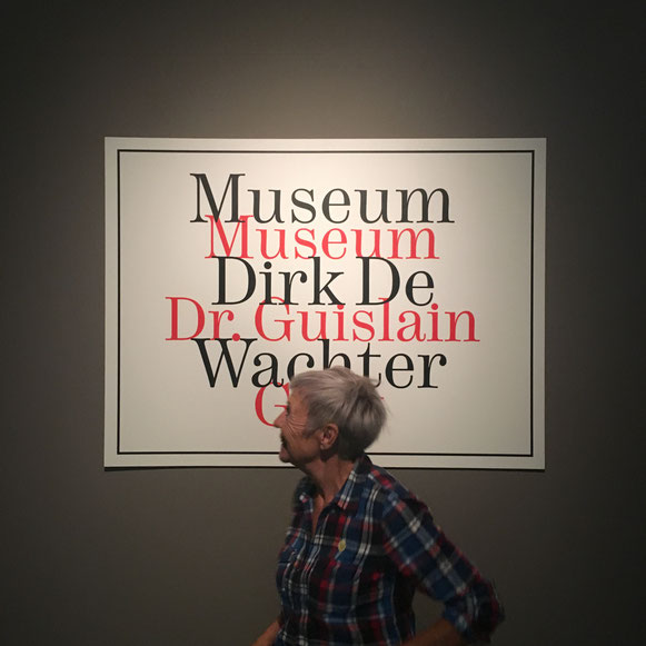 Mieke Drossaert bezoekt de tentoonstelling Kunst & Psychiatrie in het Museum Dr. Guislain, dit keer omgedoopt tot Museum Dirk De Wachter (Gent)