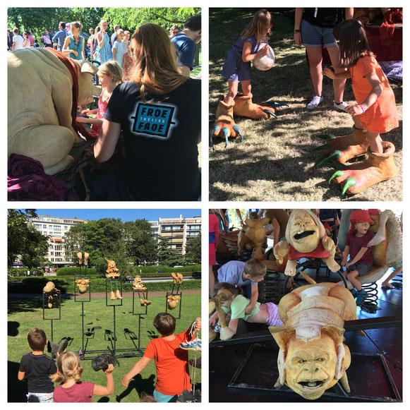 Froe Froe inspireert opnieuw kinderen tijdens TAZ (Oostende) 2016