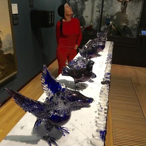 glaswerk van Jan Fabre in Dordrecht.