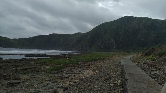 久米島の冬は曇りが多い・・・