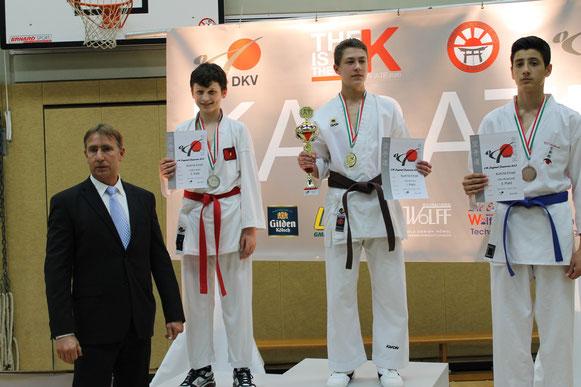 2 Platz Endrit Salihi / Qualifiziert für DM in Cottbus