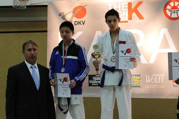 1 Platz Andre Benayas / Qualifiziert für DM in Cottbus