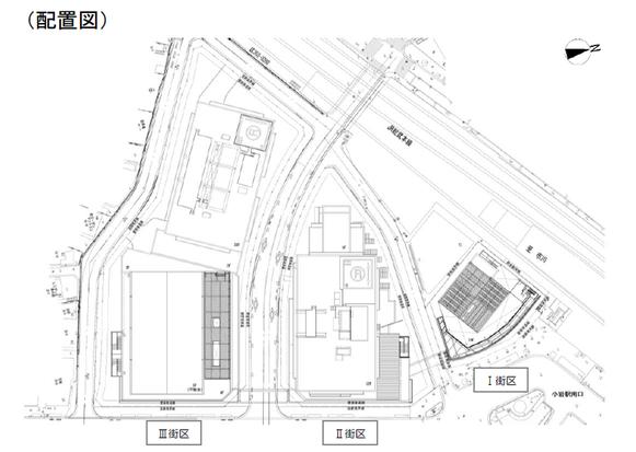南小岩6丁目地区配置図