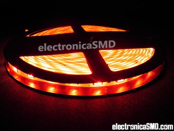 rollo led, tira led, ROJO, guatemala, electronica, electronico, LED, LEDs, rollos leds, led en tira, led strip