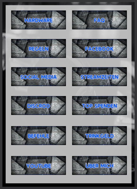Twitch Panels 9 kostenlos