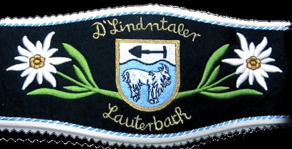 Vereinsträger des Trachtenvereins D'Lindntaler Lauterbach