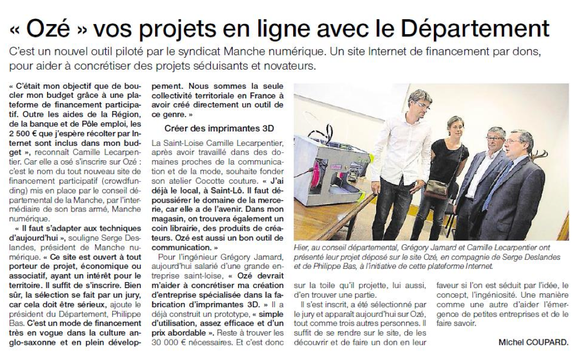 Ouest-France, 04.07.2015