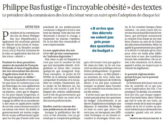 Le Monde, 05/08/2015