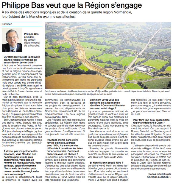 Ouest-France, 01/07/2015