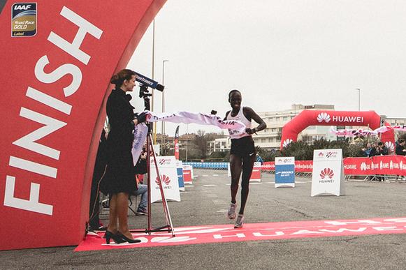 Lonah Chemtai Salpeter gana la Media Maratón de Roma-Ostia (Organizadores) © Copyright