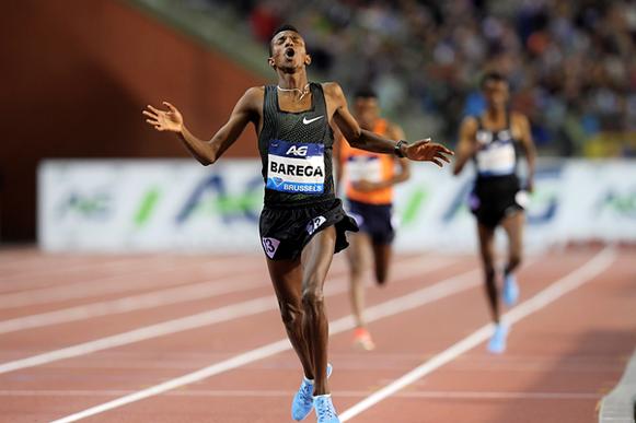 Selemon Barega gana los 5000 m en la final de la IAAF Diamond League en Bruselas (Gladys Chai von der Laage) © Copyright