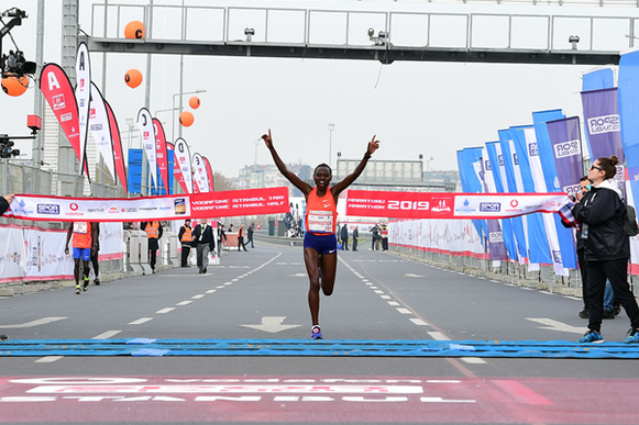 Ruth Chepngetich gana el Medio Maratón de Estambul (Organizadores) © Copyright