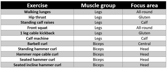 A complete 10-day full body workout plan (for serious muscle building)