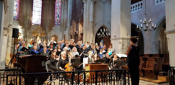 Consonance-Les Voix de Midi-Concert samedi 30 juillet 2018-Cathédrale Grenoble-Messe H1 Charpentier