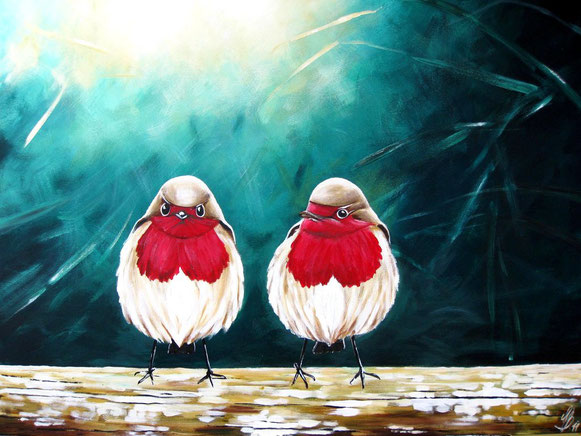 """amare"", 2011,  acrylic on canvas, 60x80"