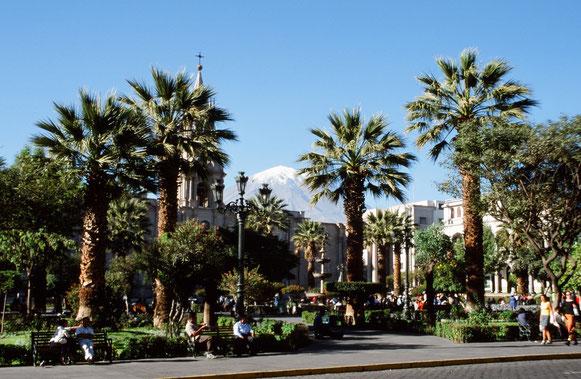 Arequipa, die weisse Stadt in Peru, ist eine Reise wert