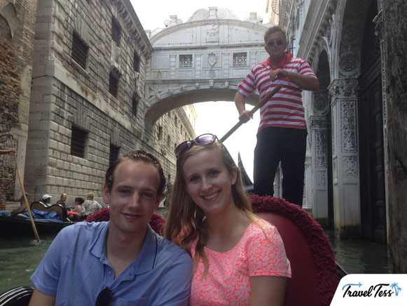 Gondeltour Venetië