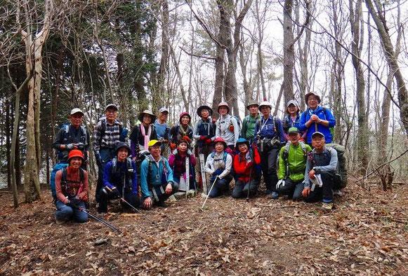 竜王山(1012.8mー一等三角点)