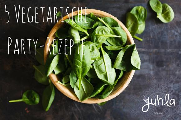 5 super leckere vegetarische Snacks für deine Party!