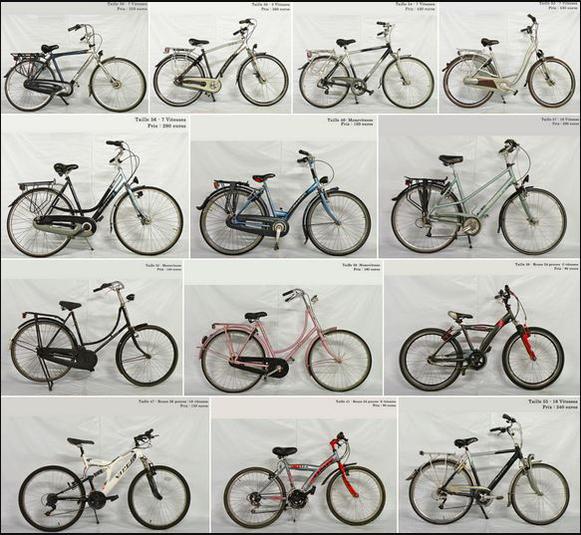 Sélection des vélos d'occasion hollandais