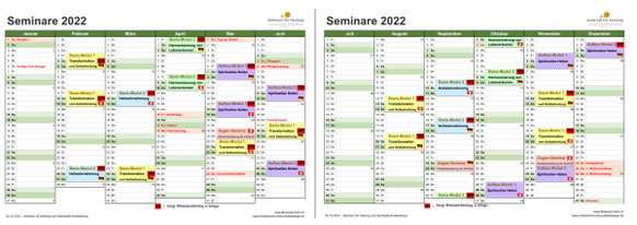 Seminar-Kalender 2020/2021