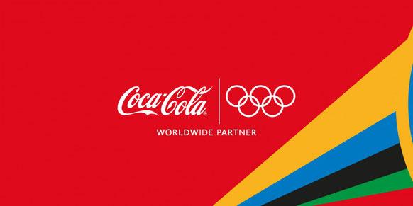 リオオリンピックのスポンサーコカコーラ