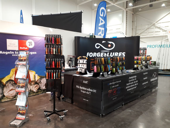 Messestand Forge of Lures bei der Pferd & Jagd 2019