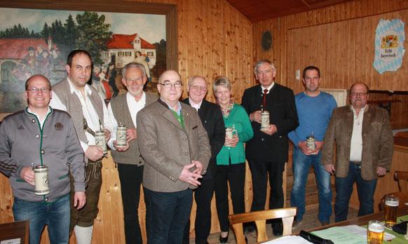 Gerhard Beck, Christian Burkert, Gerhard Burkert, Martin Steiner, Siegfried Sureck, Rosina Heinik, Michael Reindl, Roland Steiner, Anton Loibl