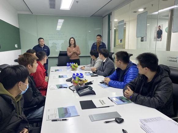 ICD上海办公室宣讲会现场