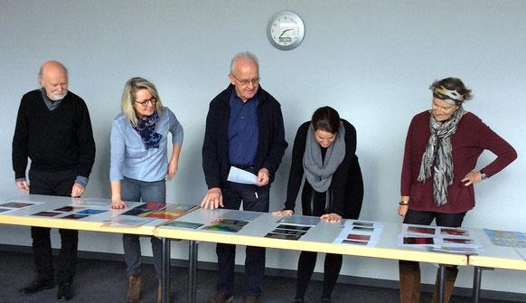 Truderinger Kunst-Tage, Jury (Lothar Kaspar Wurm, Birgit Bremberg, Peter Gierse, Susanne Weyand und Petra Jakob)