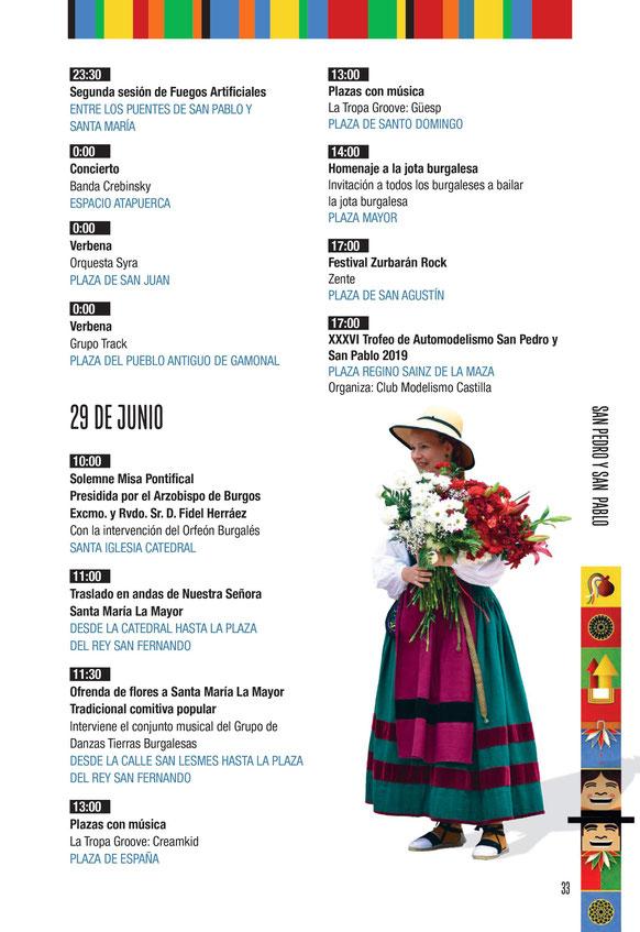 Fiestas de Burgos San Pedro y San Pablo