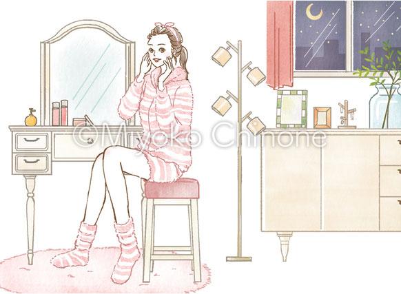 女性 化粧 コスメ