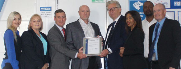 South Africa's WFS managers are happy about the GDP certification